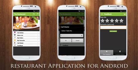 application android cuisine restaurant order mobile app android ios by