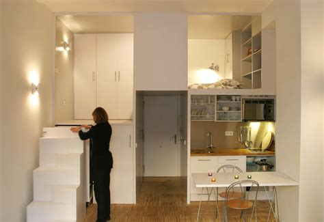 micro apartment living 300 square foot micro studio loft apartment with space saving design idesignarch interior