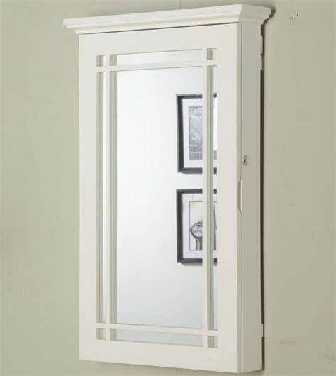 white wall mounted cabinet wall mounted jewelry armoire cabinet jewelry ideas