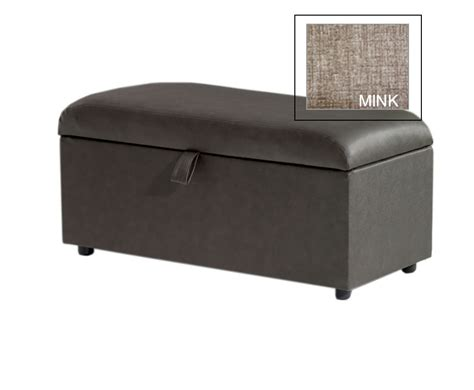 Large Fabric Ottomans by Offers