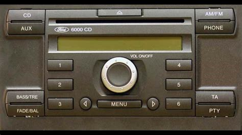 ford 6000 cd vocomo shop bluetooth car kit kx 1 ford v1