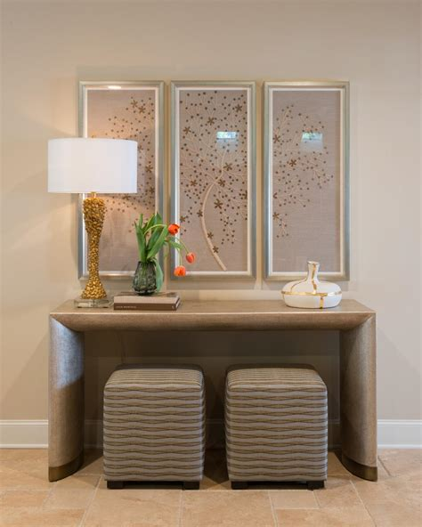 entryway console table photos hgtv