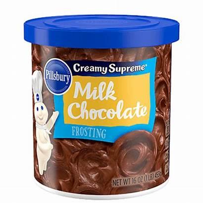Chocolate Frosting Milk Pillsbury Cake Walmart Icing