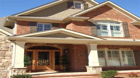 brick siding ideas exterior house colors with orange