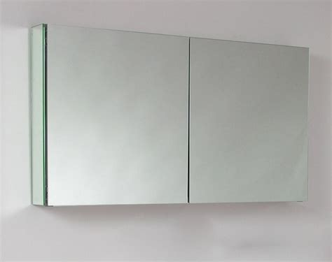Wide Mirrored Bathroom Cabinet by 48 Quot Wide Mirrored Bathroom Medicine Cabinet