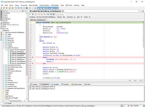 Sql Debugger For Microsoft