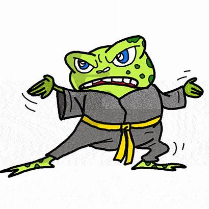 Funny Clipart Clip Silly Animal Cliparts Toad