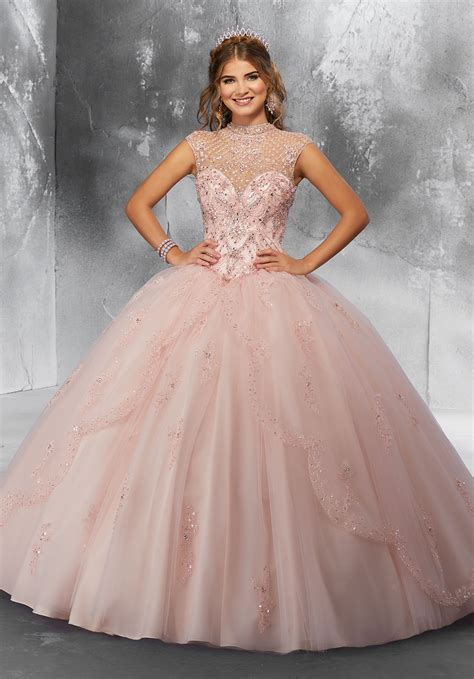 Crystal Beading on a Princess Tulle Ballgown   Style 89197 ...