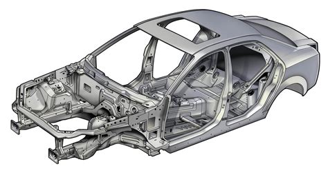 cadillac cts safety cage  body structure boron