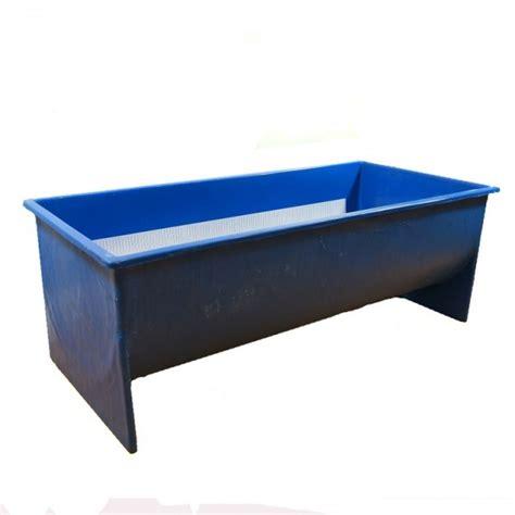 koi tub large half cylinder koi measuring tub large half