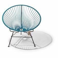 Fauteuil Bleu Pétrole : fauteuil acapulco en couleur bleu p trole le fauteuil acapulco authentique ~ Teatrodelosmanantiales.com Idées de Décoration