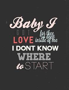 Baby I - Ariana Grande | * music lyrics * | Pinterest