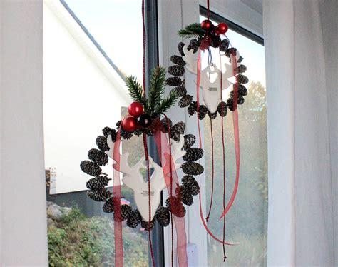 Fensterdeko Weihnachten Diy by Diy Weihnachtliche Fensterdeko Selber Machen Tiziano