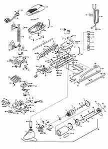 Minn Kota Auto Pilot 55  54 Inch  Parts