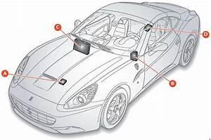Ferrari California  2008 - 2014  - Fuse Box Diagram