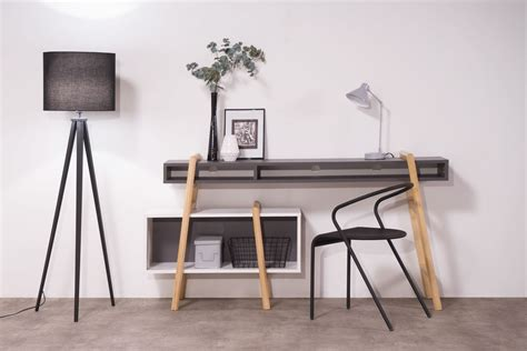 meuble tv et bureau les étagères design modulables wood tang compo par miliboo