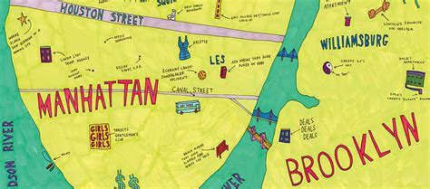 This Broad City Map of NYC Shows Where Abbi & Ilana Chill ...