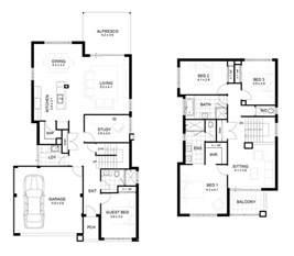 2 storey house plans modern 2 story house floor plans modern house