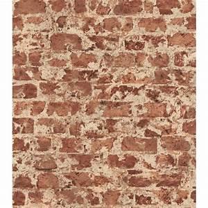 Washington Wallcoverings Faux Brick Wallpaper