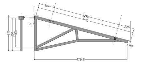 progetto tettoia tettoia in acciaio