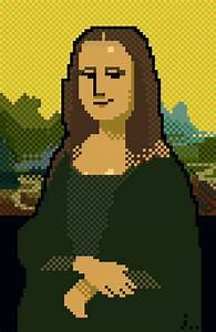 Pixelated Famous Works Of Art