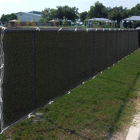 measuring install a chain link fence screen fence ideas