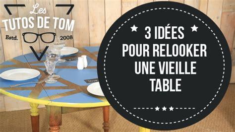 dessus de bureau en verre diy 3 idées pour relooker une vieille table sur