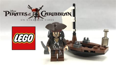 Rare Lego Pirates Of The Caribbean Jack Sparrow's Boat