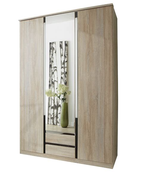 Wardrobe With Drawers And Mirror by 3 Door Wardrobe With Drawers And Mirror Free Delivery