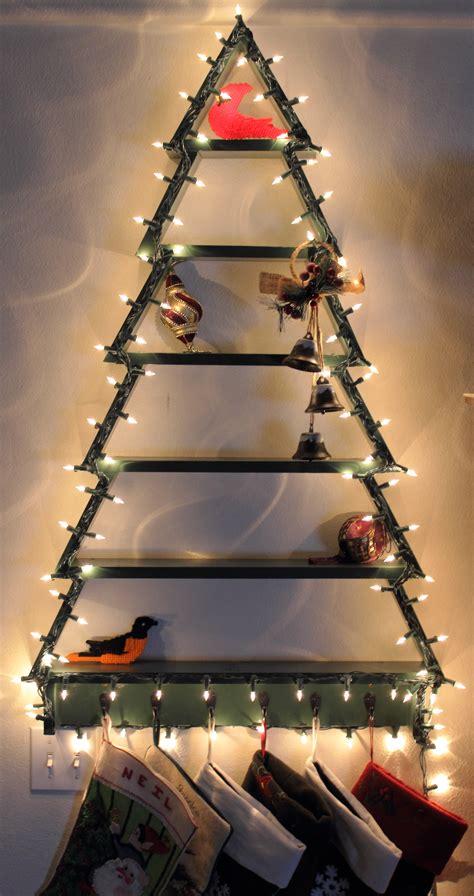 ana white christmas tree shelf  lights diy projects