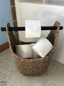 Cesta porta papel higiénico manualidades