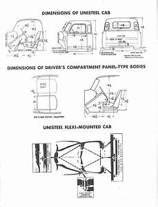 Chevrolet Advanced Design Pickup Truck Measurements