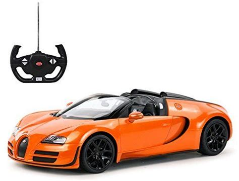 Pearl m / polar m. Radio Remote Control 1/14 Bugatti Veyron 16.4 Grand Sport Vitesse Licensed RC Model Car (Orange ...