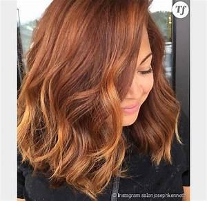 Couleur Cheveux Tendance : le pumpkin spice hair la couleur rousse tendance de l ~ Nature-et-papiers.com Idées de Décoration