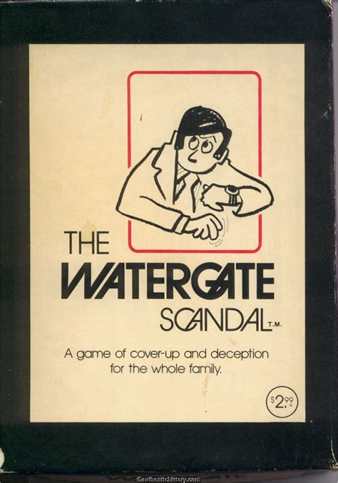 watergate scandal nixon game culture 1974 popular card music box 1961 popculture authentichistory