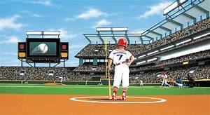 MLB Baseball Home Decor~Batter Up Baseball Stadium Wall ...
