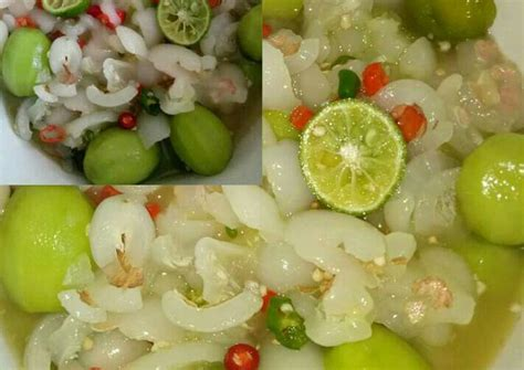350 resep manisan rambutan asam ala rumahan yang mudah dan enak dari komunitas memasak terbesar dunia! Resep Asinan Rambutan with baby kedongdong oleh Nida Anisa ...