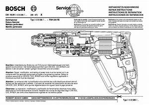 Bosch Pbh 220 Re Type 0 603 336 7 Service Manual Download