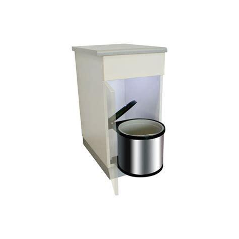 poubelle ronde en inox 1 bac 12 litres ilovedetails