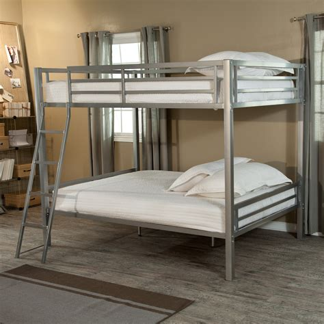 Duro Hanley Full Over Full Bunk Bed  Silver  Bunk Beds. Eight Drawer Dresser. Queen Platform Bed With Storage Drawers. Kitchen Drawer Locks. Dining Table Black. Warmer Drawer. Desk Organizer With Drawer. Cheap Glass Desk. Sewing Tables Walmart