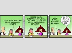 Dilbert SEOs Control Content On The Web
