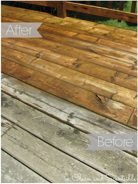 cleaning wood deck with how to clean your wood deck our home sweet home