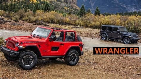 2018 Jeep Wrangler (hard & Soft Top) Revealed Price