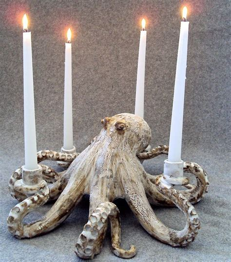 octopus candle holder octopus candleholder pretty objects brocantes