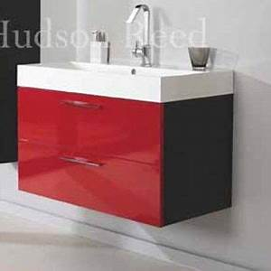 the 12 best images about red bathroom ideas on pinterest With red vanity units for bathroom
