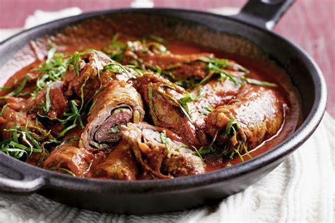 recipes beef braciole beef rolls