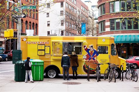 food trucks nyc truck york ny vendors gourmet hungry yet lunch restaurants meat carts joe wrote burger she sidewalk frites