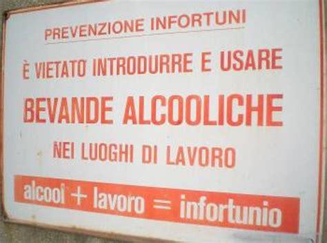 ufficio sorveglianza roma alcol e lavoro sorveglianza sanitaria e procedure