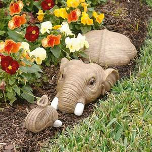 Design, Toscano, In, For, A, Swim, Elephant, Lawn, Sculpture