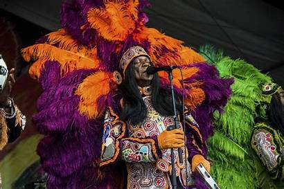 Orleans Jazz Heritage Chief Monk Festival Fest